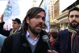 Nicolás Del Caño, ex candidato a presidente por el Frente de Izquierda